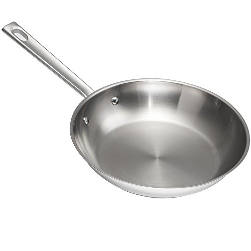 stainless steel fry pan set - 8