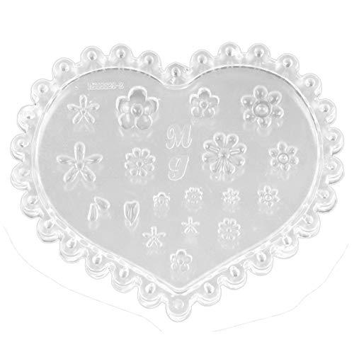 ACAMPTAR 1 stks Diy Siliconen Mold Nagel Stempelen Camellia 3D Carving Patroon UV Gel Acryl Kristal Nagel Template Gereedschap