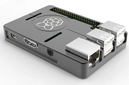 『cocopar Raspberry pi用CNC放熱超薄いアルミニウム合金保護ケース (3B)』の1枚目の画像