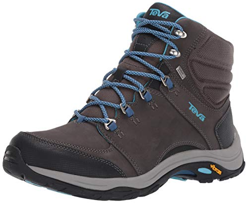 Teva womens W Montara Mid Event Hiking Boot, Dark Gull Grey, 9 US
