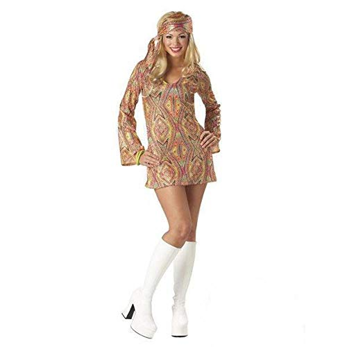 Generique - Sexy Pailletten-Disco-Outfit für Damen! - S (38/40)