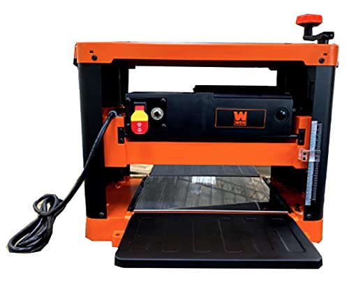15-Amp 12.5-Inch Two-Blade Benchtop Thickness Planer - WEN PL1252