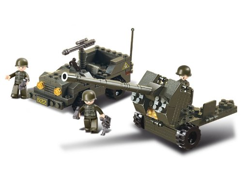 Sluban Anti-Aircraft Flak And Jeep