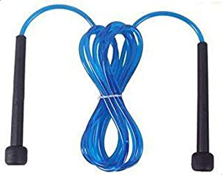EXERCISE & FITNESS TRAINING BOXING MMA SKIPPING LONG JUMP SPEED BLUE ROPE [BTT]