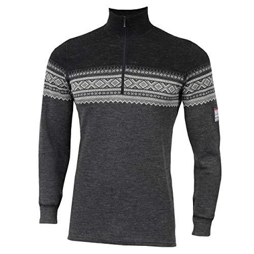 Aclima DesignWool Marius Mock Neck Shirt heren norefjell 2019 ondergoed