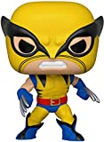 Funko Pop Bobble Marvel: 80th-First Appearance Wolverine Figura Coleccionable, Multicolor...