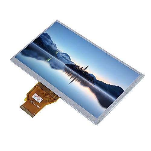 Sharainn Für Raspberry Pi Touchscreen, tragbares 7-Zoll-HD-LCD-Display, 800 x 480 hochauflösend, für Raspberry Pi