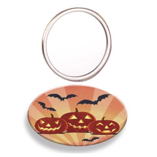 Citrouilles Halloween Miroir de poche – Mad Beauty