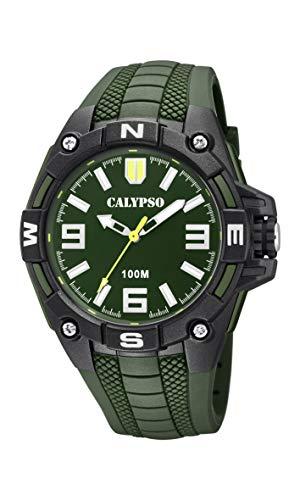 Calypso Watches Reloj Analógico para Hombre de Cuarzo con Correa en Plástico K5761/5