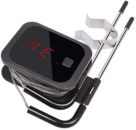 Inkbird IBT-2XEU Thermomètre Cuisson Bluetooth Thermomètre avec Sonde Temperature Cuisine Thermomètre Four Thermometr...
