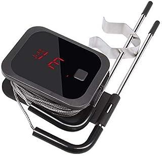 Inkbird IBT-2X 4.0 Termometro Barbacoa Digitales Termómetros de Cocina Bluetooth Termometro con Inoxidable Sonda Temporizador Portatil con Pantalla LED de Alarma Barbacoas Horno Parilla