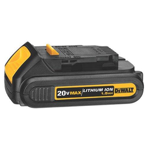 DEWALT DCB201-2 20-Volt MAX Li-Ion 1.5 Ah Compact Battery 2-Pack