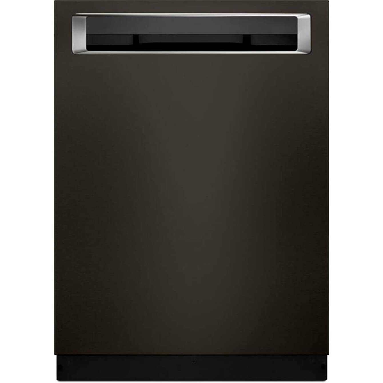 KitchenAid KDPE334GBS 39 dB Black Stainless Built-In Dishwasher with Third Rack (Renewed)