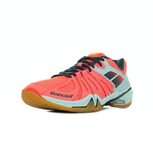 Babolat Shadow Spirit Men 30S1703GRISROUGE, Chaussures Badminton - 46.5 EU