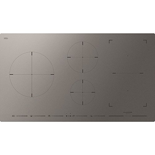 Fulgor FSH 905 ID TS MAT keramische kookplaat grijs 90cm