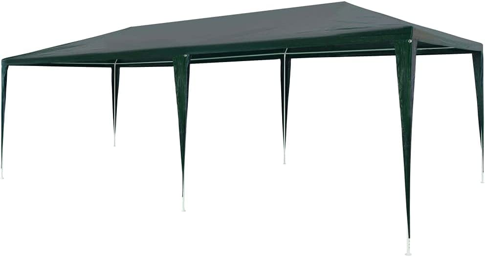 4 years warranty NusGear Party Tent PE Green Material: and roof Animer and price revision 9'10