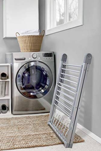 HomeRepublic Deluxe Maxi Plus Electric Air Dryer 2 Tier plus Shoes Rack Clothes Dryer Energy Saving Multi Purpose Clothes Rack Less Than 4p per Hour (2 Tier)