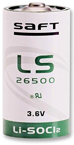 Saft Lithium Batterie, 3,6 V 7.7 Ah c Par Jeu Points Direct