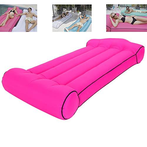 JiMany Outdoor water opblaasbaar bed, draagbare slaapbank, strand camping luchtmatras