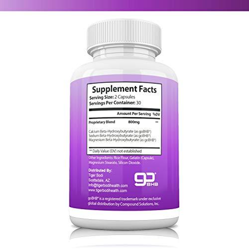 Keto BHB Real Capsules, Keto 800 BHB Pills for Real Energy, Focus, Boost - Premium Advanced Powder Exogenous Ketones for Rapid Ketosis Diet for Men Women 2