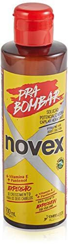 Novex - Pra Bombar Siero Ultra Concentrato - Trattamento Acceleratore per Crescita Veloce Capelli - Con Vitamina A e B5, Proteine del Siero del Latte e Capilmax - Flacone 60 ml