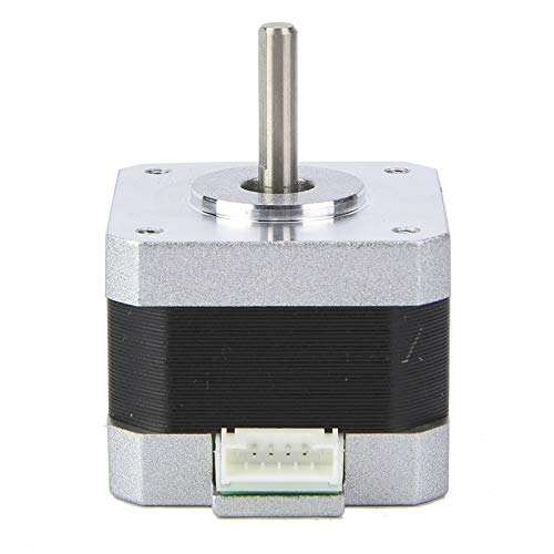 Bipolar Stepper Motor, Strong and Sturdy Long-time Working Applicable Printer D Stepper Motor with Iron+Plastic for Long Time