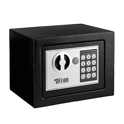 TUFFIOM Mini Safe, Electronic Digital Security Safe Box