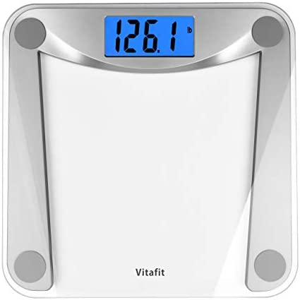 Vitafit Digital Body Weight Bathroom Scale Weighing Scale with Step On Technology Extra Large product image
