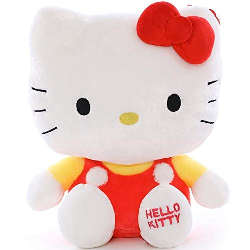 CYFCXK Hello Kitty Molly KT Cat Llush Toy Gato Boda Muñeca Creativa,A,17...
