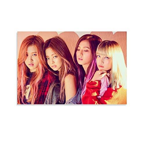 DSGFR Blackpink 1 póster de grupo de música coreano, pintura decorativa, lienzo...