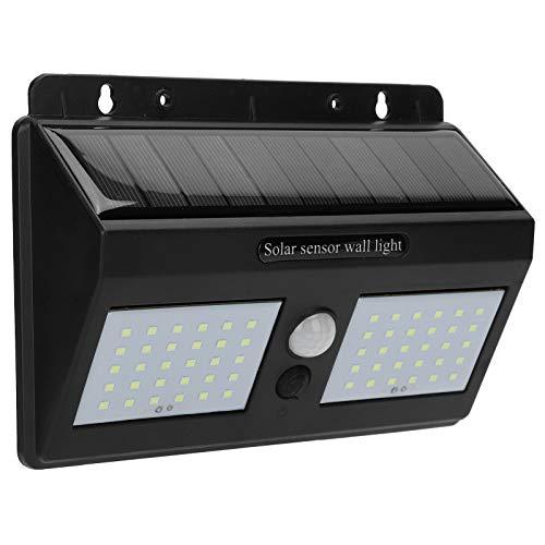 Lampada da parete solare a induzione a LED, protezione da sovratensione 60 luci ABS Solar Power Light con manuale per forniture industriali per prodotti per la casa per uomo
