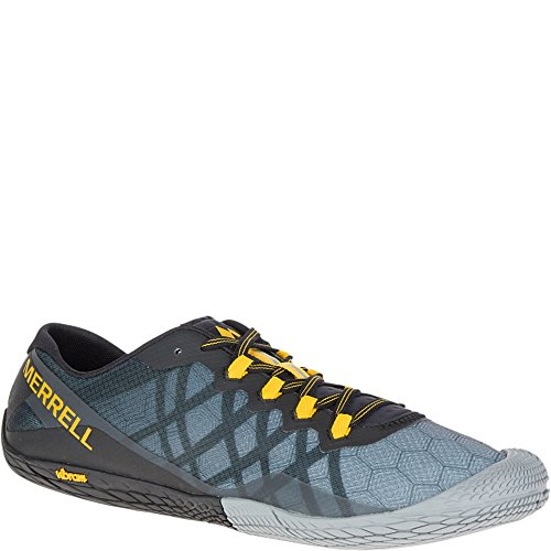 Merrell Men's Vapor Glove 3 Trail Runner, Dark Grey, 11 M US
