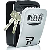 Key Lock Box for Outside - Rudy Run Wall Mount Combination Lockbox for...