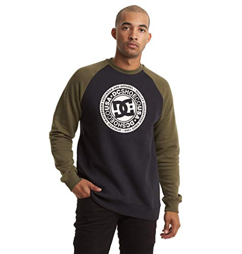 DC Shoes Circle Star - Sweatshirt for Men - Sweatshirt - Männer - XL - Schwarz