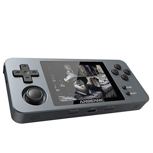 RG280M - Consola de juegos portátil retro con 5000 juegos clásicos, 2,8 pulgadas, consola de juegos para adultos, portátil, con tarjeta TF de 64 G, sistema de fuente abierta, portátil integrado