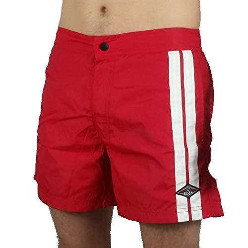 Bear Pantaloncini Corti Boardshort Boxer Mare Costume Bagno SS20 2760670735 Malibù Red Ribbon (34)
