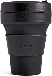 stojo(ストージョ)mini ミニ 8oz/240ml 折り畳みマイカップ マイタンブラー ショートサイズ対応 (INK)