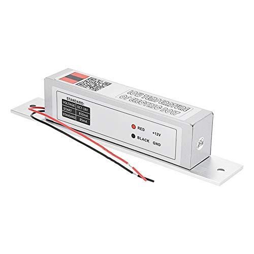 Elektrisch insteekslot, winnaar Elektromagnetisch slot Lage temperatuurvergrendeling NC-modus voor toegangscontrole voor deuren Geschikt voor houten deur, glazen deur, metalen deur