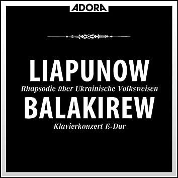 Liapunow: Rhapsodie über Ukrainische Volksweisen - Klaiverkonzert