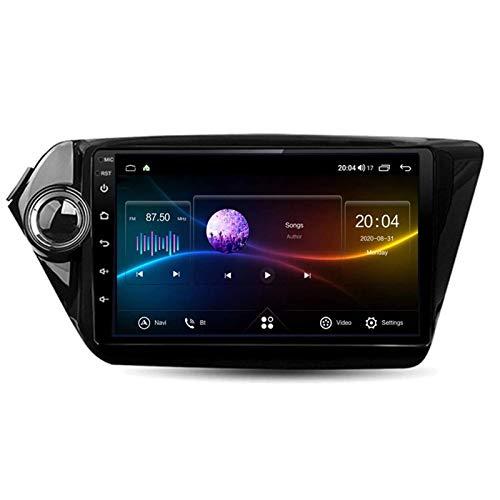 WY-CAR Pantalla Táctil De 9 Pulgadas Player Multimedia Coche Estéreo para KIA K2 2010-2016, Cámara De Vista Trasera/FM/Bluetooth/Control De Volantes,4 core-4G+WiFi: 1+16G