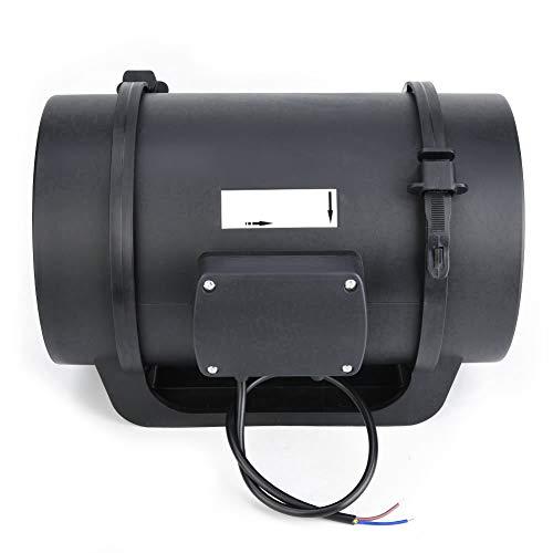 Ventilador, ventilador de ventilación de 8 pulgadas, motor EC de escape de ventilación para el hogar(220V)