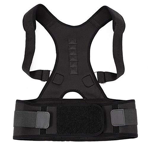 Men Women Magnetic Corrective Vest Posture Corrector Corset Back Orthopedic Brace Scoliosis Back Support Belt