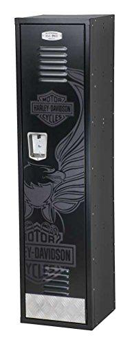Harley-Davidson Eagle Bar & Shield Metal Locker, Steel Construction HDL-19705