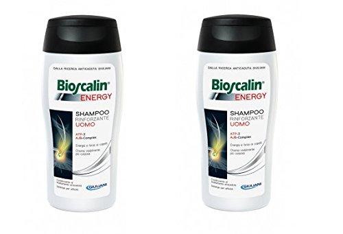 2 x Bioscalin Energy Shampoo 200 ml