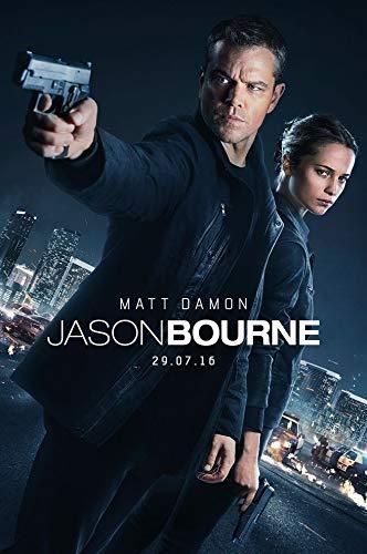Firefly Arts Jason Bourne 60cm x 90cm 24Zoll x 36Zoll Poster auf Seide - Kunstdrucke