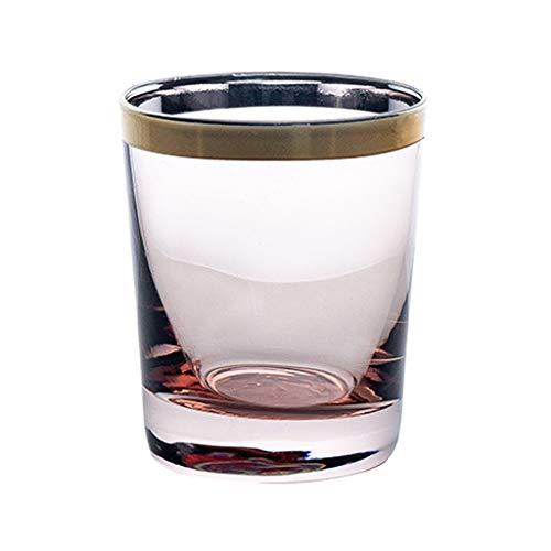 vasos cristal Whisky de cristal reutilizable vaso for beber de cristal sin...