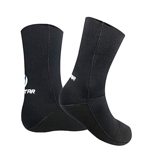 MLYWD Diving Socks - Calcetines de Buceo - Calcetines Profesionales de 3MM para Neopreno Buceo Material de Neopreno Equipo de Snorkel Botas