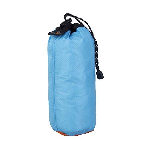 Générique Sac de Rangement Imperméable Ultraléger Organisateur pour Voyage Camping (Bleu Ciel, 2L S)