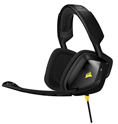 Corsair Gaming CA-9011131-EU Void Carbon Cuffie Gaming Stereo con Jack da 3.5 mm Compatibili PC/PS4/Xbox, Nero