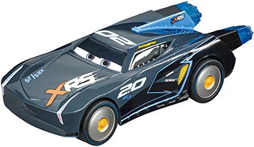 Carrera 64164 Disney Pixar Cars Jackson Storm Rocket Racer 1:43 Scale Analog Slot Car Racing Vehicle for Carrera GO!!! Slot Car Race Tracks